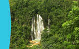 Samana Waterfall Cascada El Limon Tour and Excursion from town of Samana...